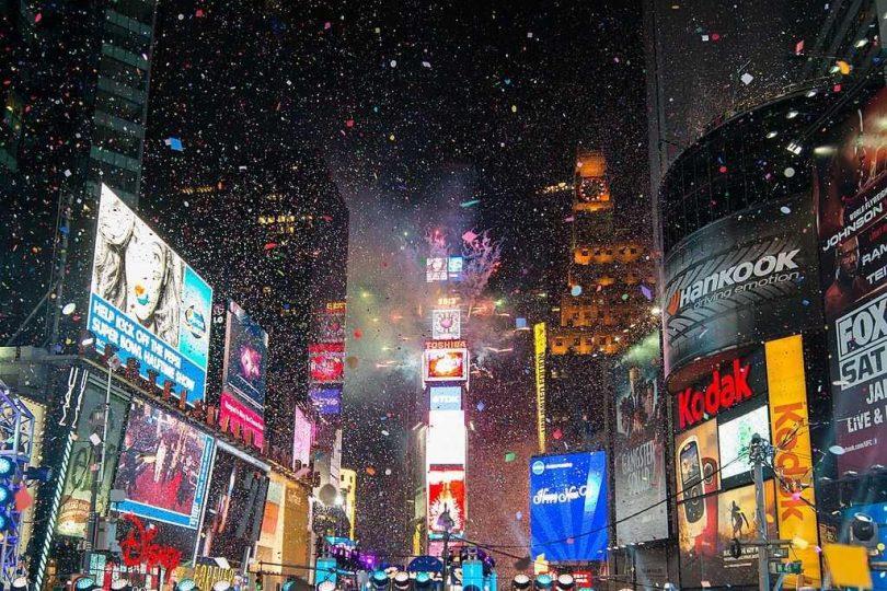 10 най-популярни дестинации за празнуване на Нова година
