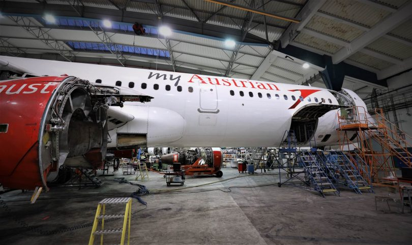 Czech Airlines Technics enters into maintenance agreement with Austrian Airlines