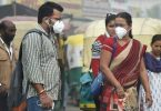 AirAsia India uddeler anti-smog-masker til passagerer på New Delhi-fly