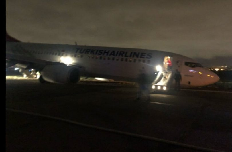 تحطمت طائرة الخطوط الجوية التركية وعلى متنها 134 راكبا في مطار أوديسا