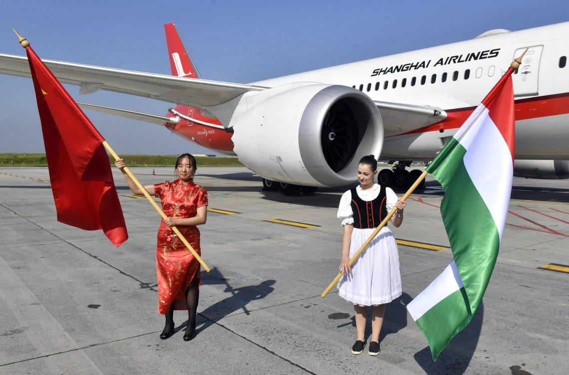 बुडापेस्ट हवाई अड्डा: शंघाई एयरलाइंस के तेजी से विस्तार से चीन कनेक्शन बढ़ा है