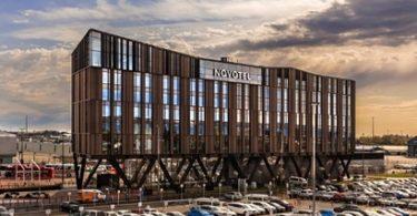 Hotel Novotel Christchurch Airport anyar sing udakara $ 80 yuta, nampani tamu pisanan