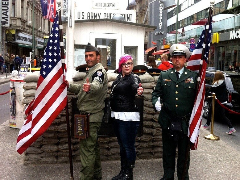 Berlin bans Checkpoint Charlie actors that were harassing tourists