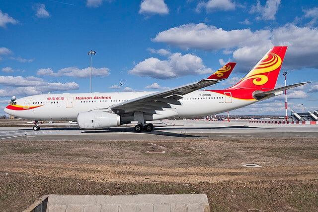 Budapest Airport hails back Hainan Airlines