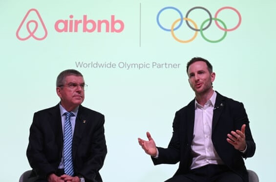 Airbnb s'associe au Comité international olympique