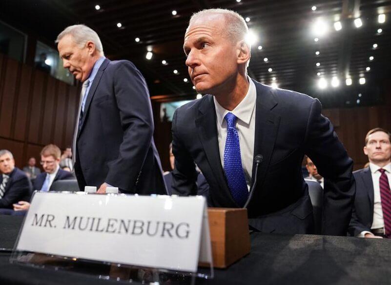 Boeing CEO opgiver kompensation for 2019, bonus i kølvandet på 737 MAX-nedbrud