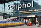 Falsch Kaping Alert ausléist Evakuéierung vum Passagéier um Fluchhafen Amsterdam Schiphol