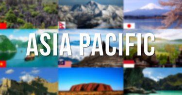 एशिया एशिया प्रशांत में अंतरराष्ट्रीय आगंतुक आगमन संख्या की आपूर्ति पर हावी है