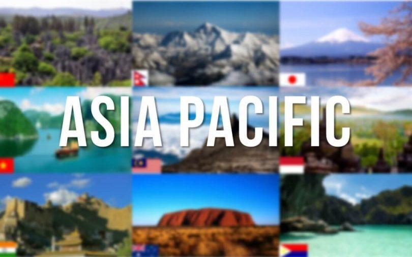 آسیا بر عرضه تعداد بازدید کنندگان بین المللی به آسیا و اقیانوسیه غالب است