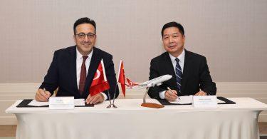 Společnost Turkish Airlines zahajuje let do čínského Si-anu