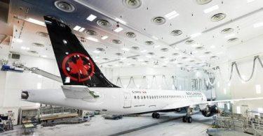 Η Airbus παρουσιάζει το πρώτο A220 της Air Canada
