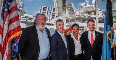 Bahamský ministr cestovního ruchu se účastní mezinárodní výstavy lodí: chválí organizátory za propagaci Baham