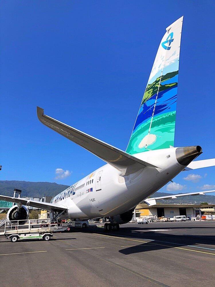 Air Austral: Retour du Dreamliner aux couleurs du lagon