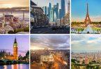 Οι ευρωπαϊκές πόλεις αυξάνουν την αεροπορική συνδεσιμότητα