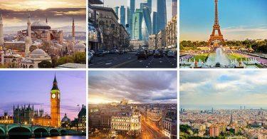 Euroopan kaupungit lisäävät lentoyhteyksiä