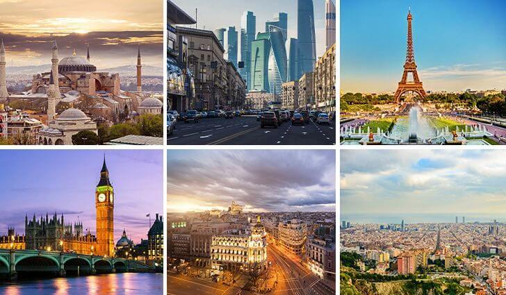 شهرهای اروپا اتصال هوایی را افزایش می دهند