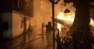 شهر میراث جهانی یونسکو در اتریش در آتش سوخت