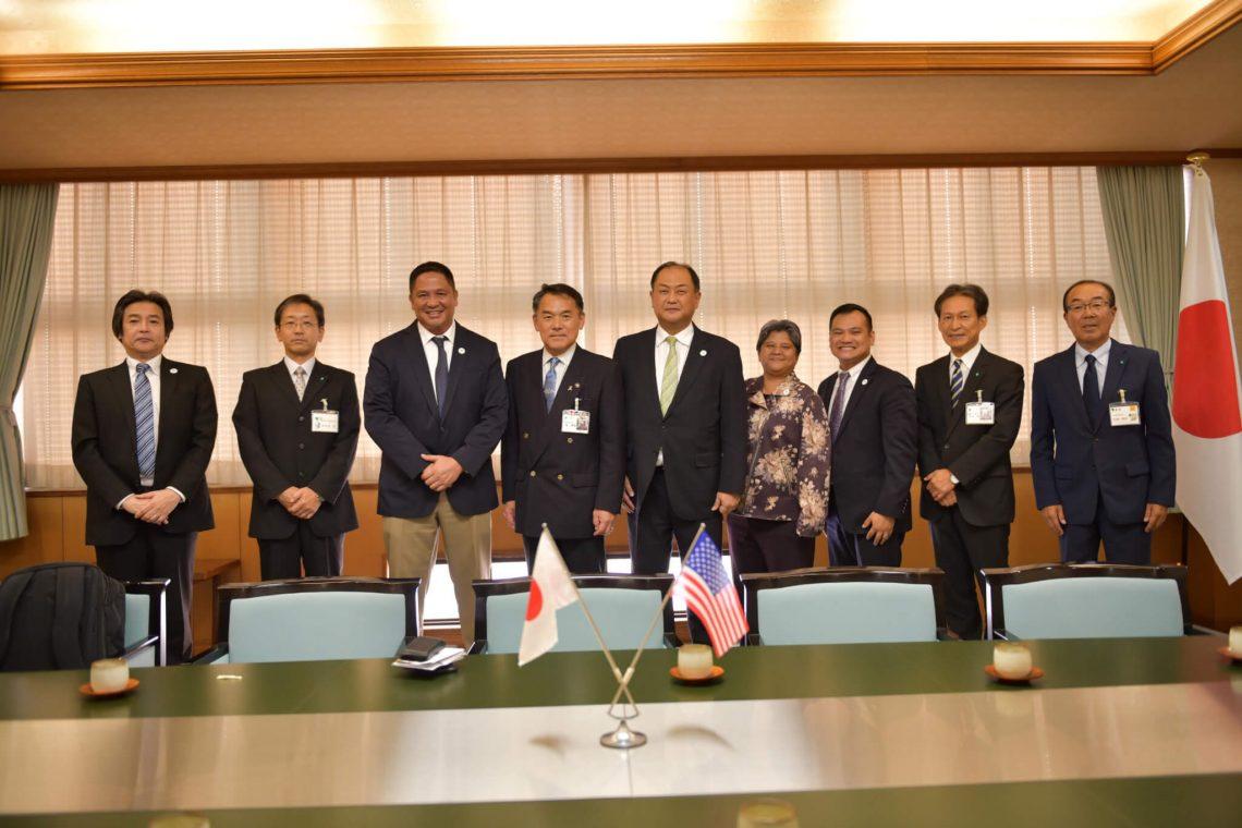 Guam en Karatsu freonskip fersterke yn Japan
