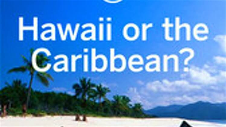 Havaiji vai Karibia? Sandaalitekijä!