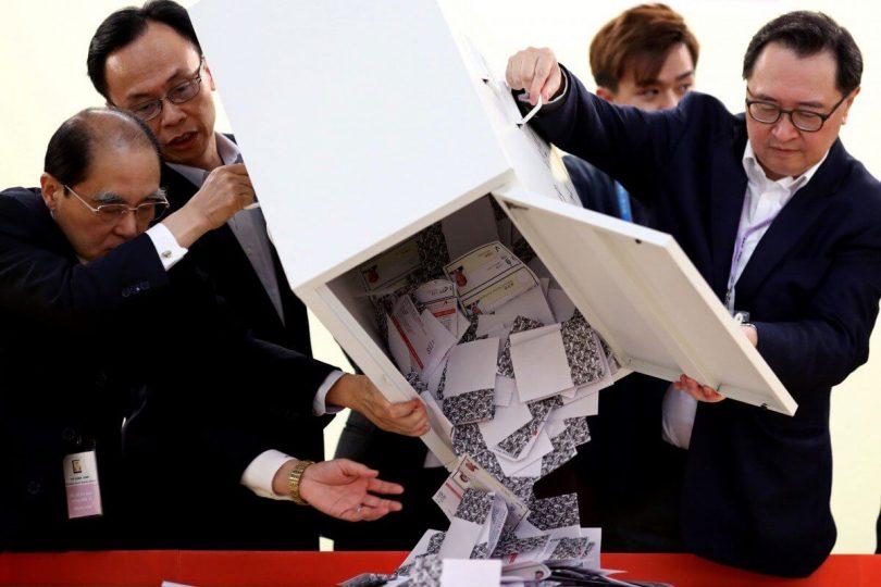 Hongkong: Volby přinášejí klid a mír