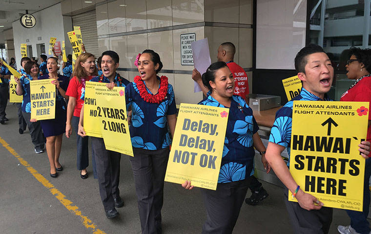 Hawaiian Air Cabin Crew Strike threatens holiday travel season for Hawaii?