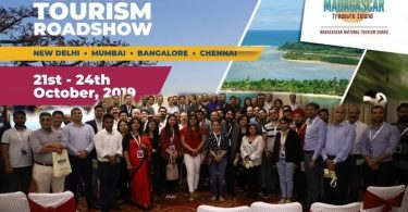 Bordi Kombëtar i Turizmit i Madagaskarit organizoi një shfaqje rrugore me katër qytete në Indi dhe përgjigjet e Shiut nga Tregtia e Udhëtimeve Indiane