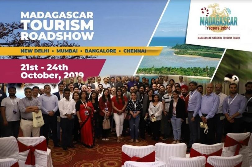 Madagascar National Tourism Board organiserede en fire-bys roadshow i Indien og Raining-svar fra Indian Travel Trade