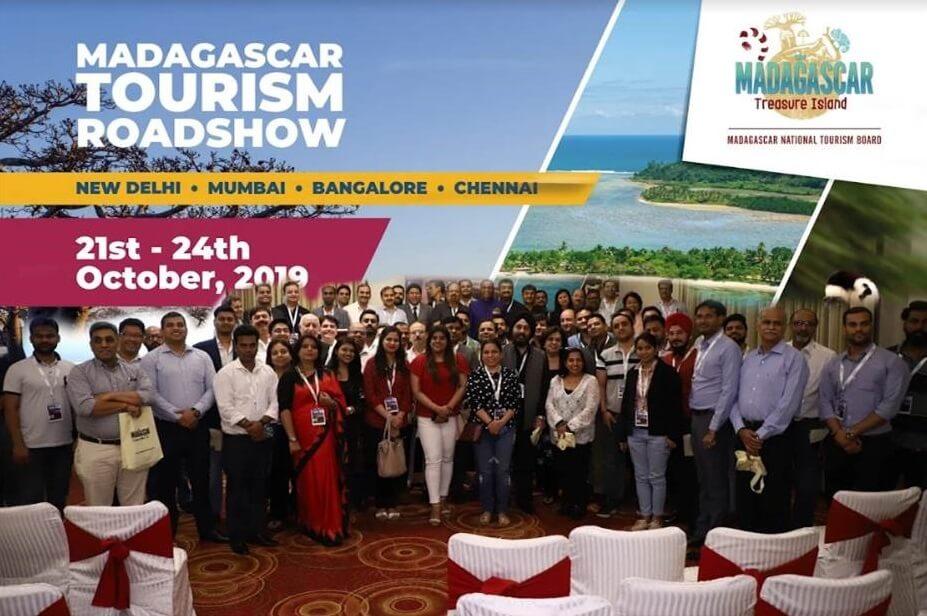 Madagaskar National Tourism Board organisearre in roadshow yn fjouwer stêden yn Yndia en regenreaksjes fan Indian Travel Trade