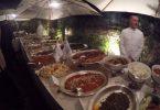 Rom feiert die Türkei durch Gastronomie