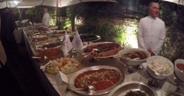 Řím oslavuje Turecko prostřednictvím gastronomie