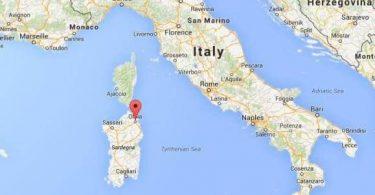 Sardinia: toeran-piainana
