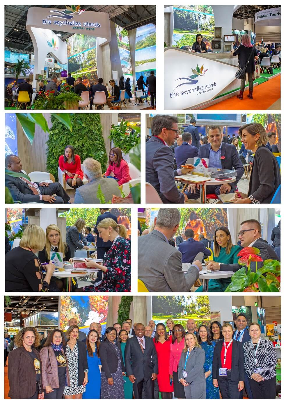 Another successful World Travel Market for the Seychelles