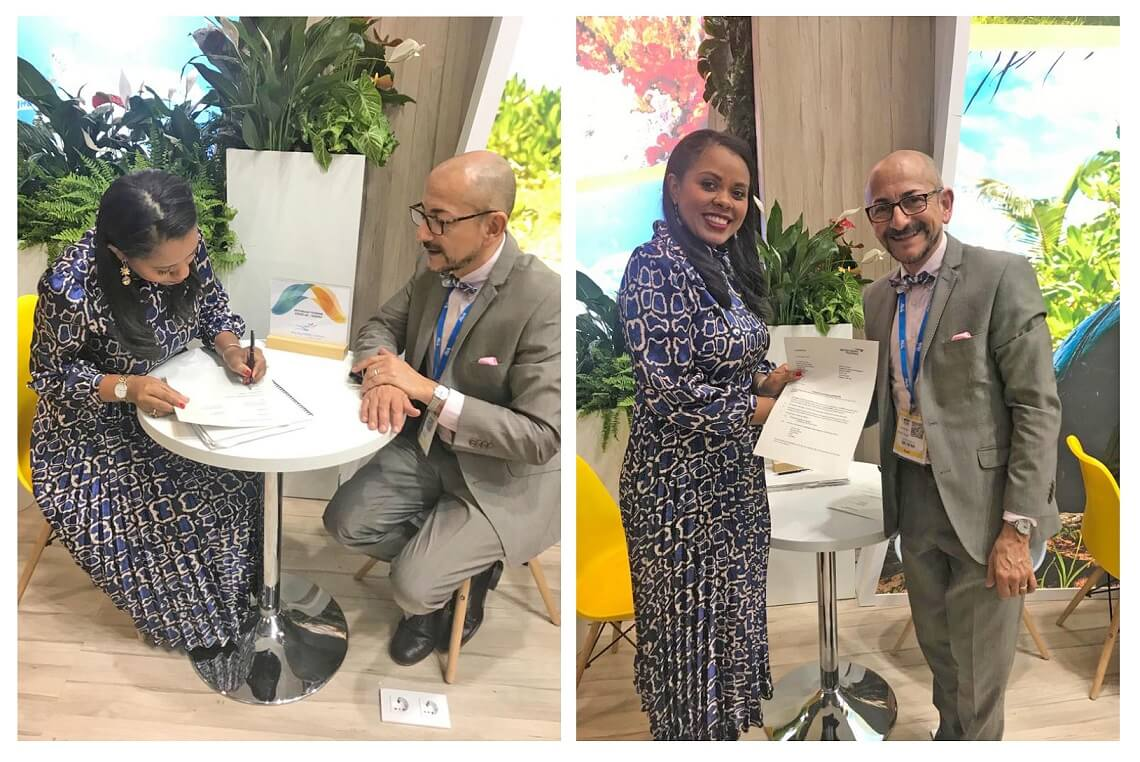 Seychelles Tourism Board signs agreement with UK flag carrier airline in London