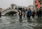 Venice tourist sites are drowning