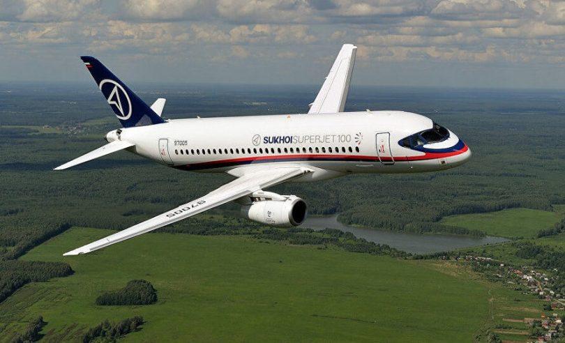 Rússland íhugar að selja 16 Sukhoi Superjet SSJ-100 vélar til Pakistan