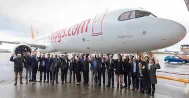 Novi Airbus A321neo pridružio se floti Pegasus Airlinesa