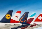 Lufthansa Group: 10.4 Millionen Passagiere im November 2019