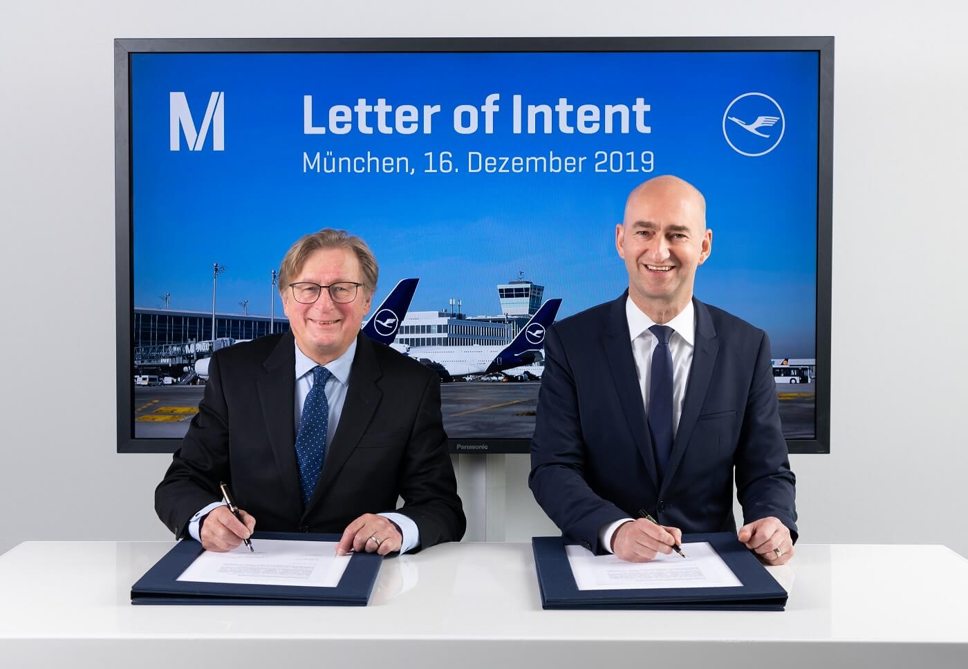 Lufthansa and Munich Airport shape sustainable future