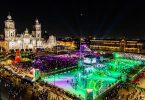 افتتاح أكبر حلبة تزلج بيئي في العالم في مكسيكو سيتي