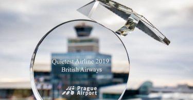 Praha nimeää British Airwaysin hiljaisimmaksi lentoyhtiöksi