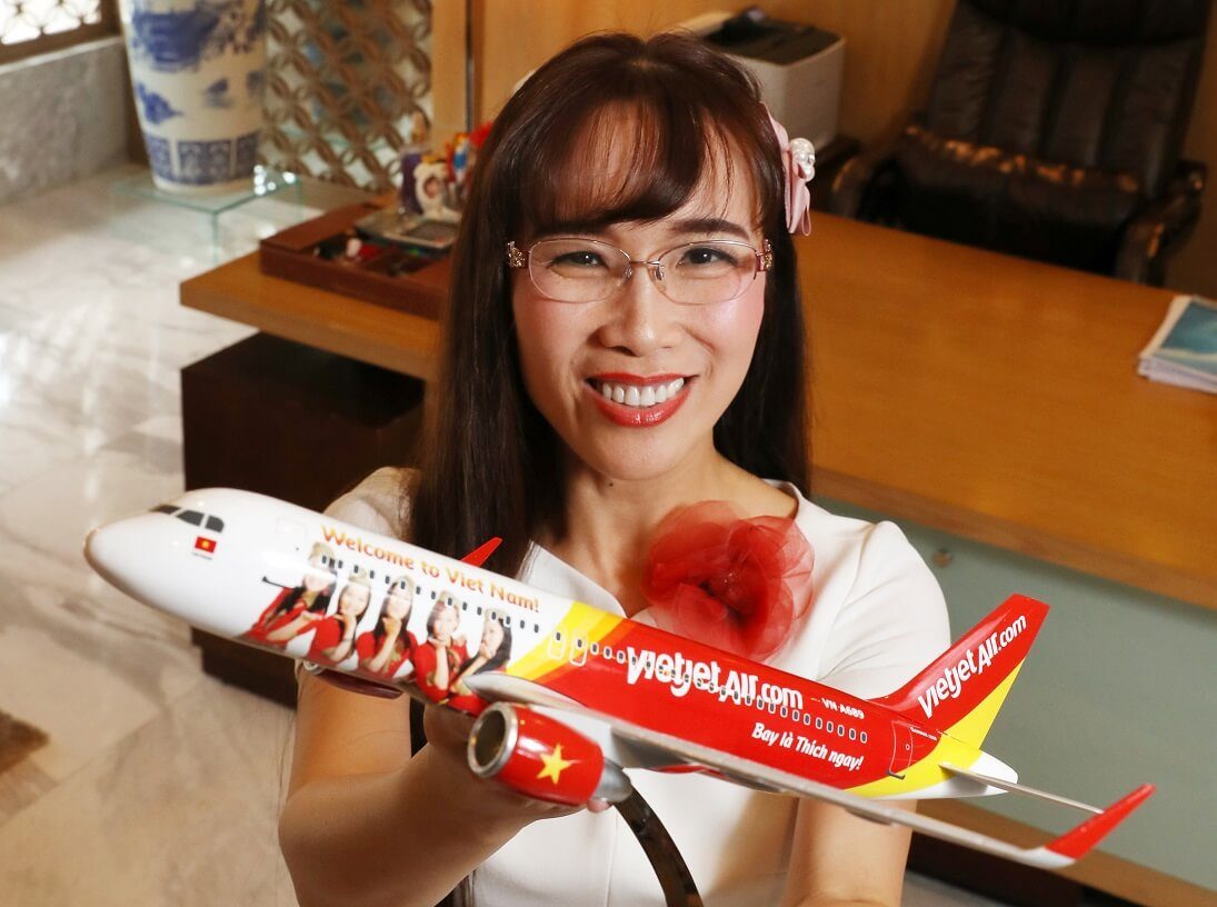 Vietjet CEO the only Vietnamese in World's 100 Most Powerful Women of 2019 list