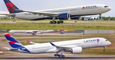 Delta Air Lines y LATAM lanzarán código compartido en Colombia, Ecuador y Perú