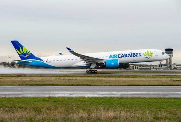 Air Caraibes recebe seu primeiro Airbus A350-1000