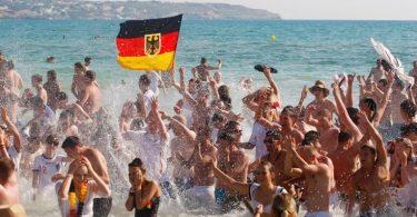 वृद्धि पर जर्मनी का आउटबाउंड पर्यटन