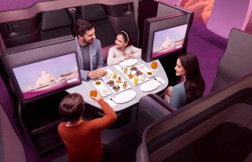 Qatar Airways introduit Qsuite sur les vols d'Atlanta et de Miami