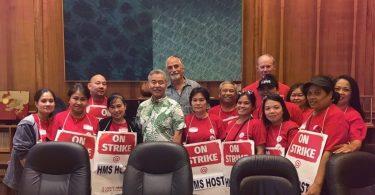 Le gouverneur d'Hawaï s'engage à soutenir les travailleurs en grève de l'aéroport d'Honolulu