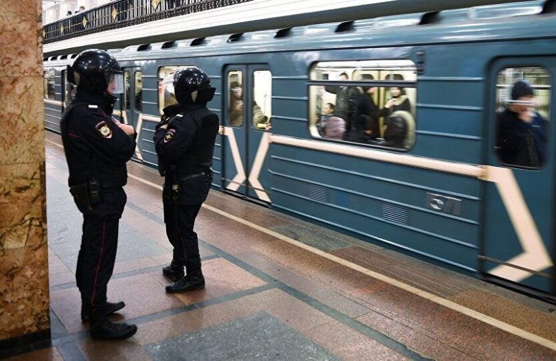 Anonymous call triggers bomb scare at Moscow Metro subway