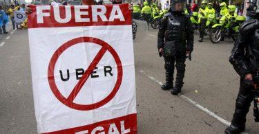La Colombie interdit Uber