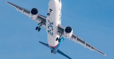ستبدأ روسيا الإنتاج التجاري لطائرات الركاب النفاثة من طراز MC-21 لبدء الإنتاج التسلسلي في عام 2020