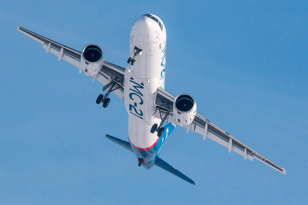 Russia to begin serial production of new MC-21 passenger jet in 2020